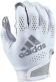 adidas Adizero 11 Turbo Football Receiver Glove, White, Medium