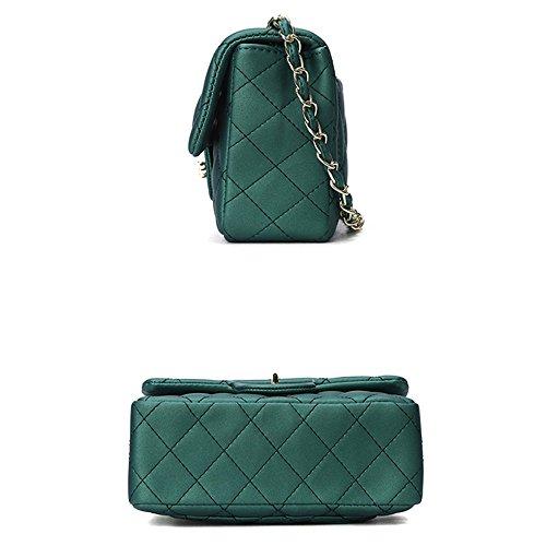 Lingge Bag Del Moda Chain Di Corpo Gelato Croce Trapuntato Black Messenger Mini Oro Blocco Spalla 2018 Tote qwYvA1f