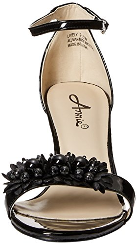 W Shoes Dress Women's Lively Annie Negro Sandal qg0tt