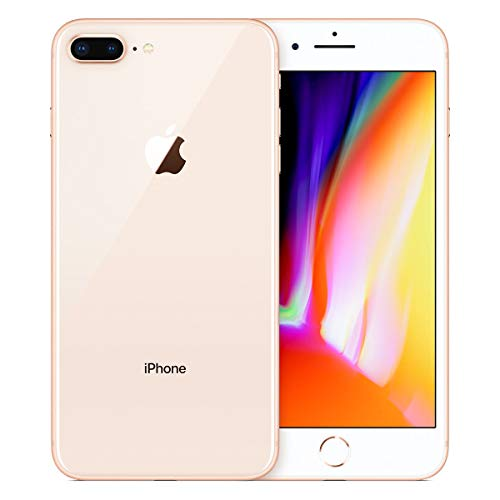 Gsm Quad Band Digital Mobile Phone - Apple iPhone 8 Plus, Fully Unlocked, 64GB - Gold (Renewed)
