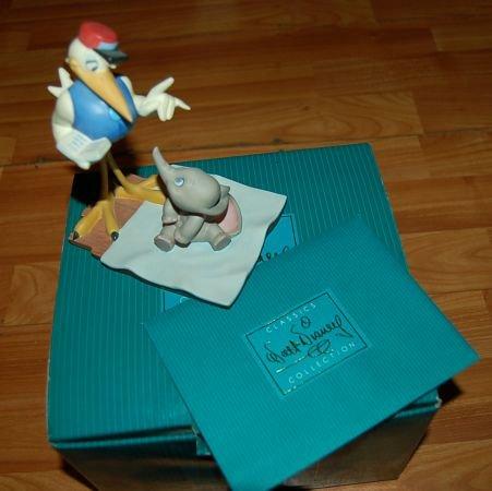 Walt Disney Classic Collection 1997 Wdcc Dumbo & Mr. Stork