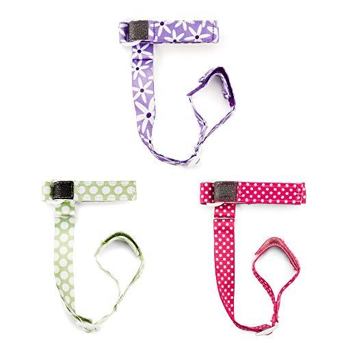 BooginHead SippiGrip 3 Piece, Pink/Purple/Teal
