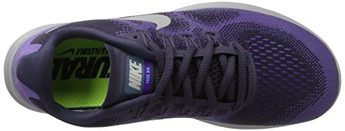 hypr purple Pure Running de Chaussures 2017 Free Dk Raisin Earth Run Nike Femme Violet Platinum w76qpZHx