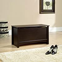 Sauder Shoal Creek Storage Chest, Jamocha Excellent Complement to Any Decor