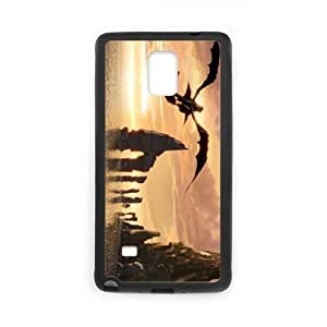 How to Train Your Dragon Samsung Galaxy Note4 Phone Case White Black Christmas Gifts&Gift Attractive Phone Case HLS5W0123360