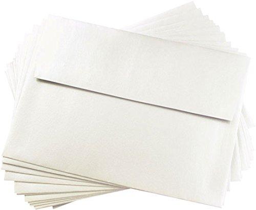 Stardream Opal Envelope (A9 Opal Metallic Straight Flap Envelopes, Stardream 81lb, 25 pack)