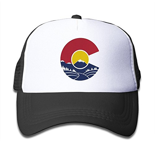 fan products of Rocky Mountain Colorado C Toddler Cool Baseball Hat Baseball Great For Kids
