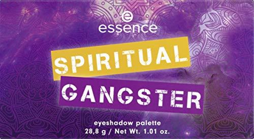 Gangster Make Up (essence | Spiritual Gangster Eyeshadow Palette | 16 Pigmented Shades | Matte and Shimmer)