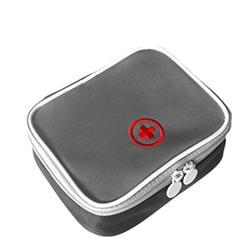 Erste Hilfe Medizin, Aufbewahrungstasche, wasserdicht Outdoor tragbar Medical Paket Emergency Medical Kit Survival Medizin Tasche Container grau