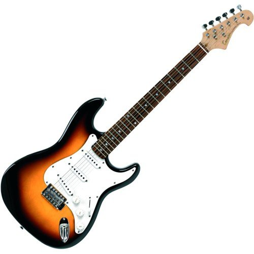 Tenson F503103 - Guitarra eléctrica RC-100, diseño 3-Tone sun burst: Amazon.es: Instrumentos musicales