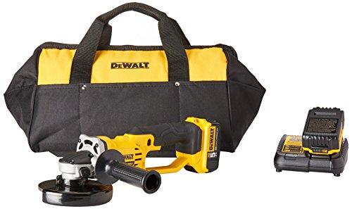DEWALT 20V MAX Angle Grinder Tool Kit, 4-1 2-Inch DCG412P2