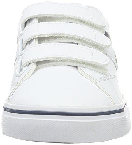 Baskets Enfant Bleu Basses Fairlead 001 1 316 Blanc Wht Mixte Lacoste qcRSt4Cy4