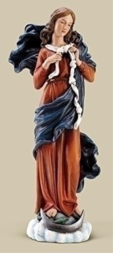 Joseph's Studio Mary Undoer of Knots 10 inch Resin Stone Decorative Figurine