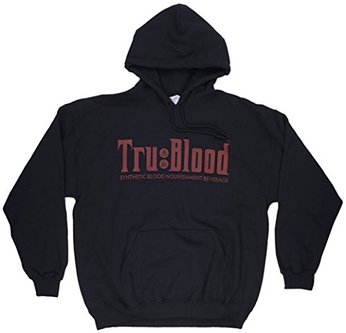 True Blood Synthetic Nourishment Men's Hoodie in Black. L.