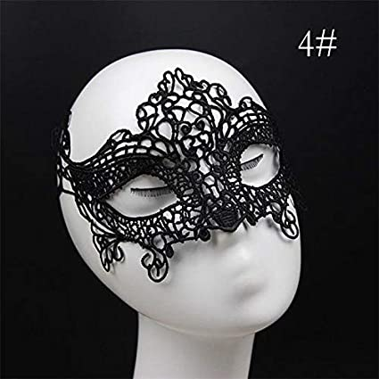Party Masks - Masquerade Party Eye Masks Lace Lady Plastic Pirate ...