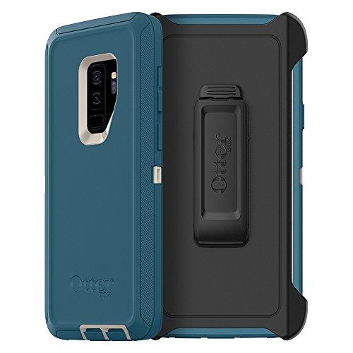 OtterBox DEFENDER SERIES Case for Samsung Galaxy S9 Plus  - Big Sur (Pale Beige/Corsair)