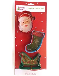 Acquisition 1 X Santa Stocking & Sled Cookie Cutters online