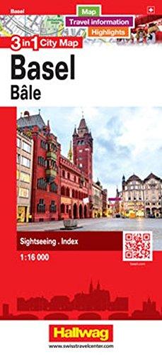 Basel/bale (Anglais) Carte – Carte pliée, 13 avril 2017 Hallwag Kümmerly+Frey Bern 3828308686 Karten / Stadtpläne / Europa