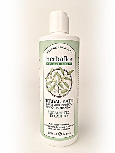 Herbal Eucalyptus Bath - Bellmira Herbaflor Herbal Bath, Eucalyptus, 17-Ounce