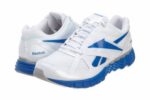 Reebok Men's SolarVibe-M Running Shoe,White/Silver/Buff Blue,10 M US SolarVibe-M