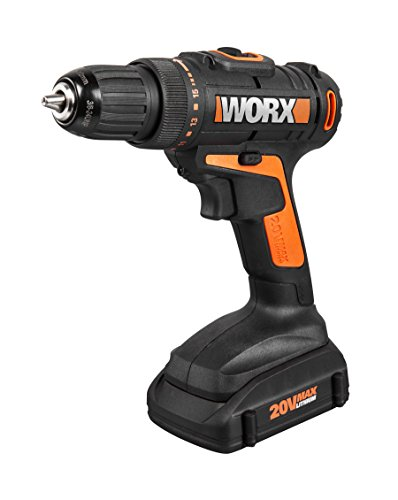 WORX 20V Cordless Drill and Driver, 2-Speed Design with Precise Torque Management - -