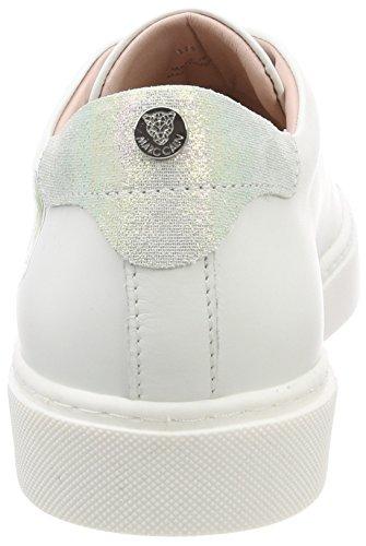 Marc Cain Damen JB Sh.33 L74 Sneaker Mehrfarbig (White)