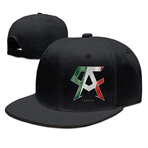 Unisex Adjustable Cap Canelo Alvarez Flatbrim Baseball Hats Snapback Flat  Bill Flexfit Hat Snapbacks Caps for 3061f3c4ec29