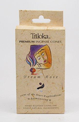 Triloka, Incense Cones Dream Rose