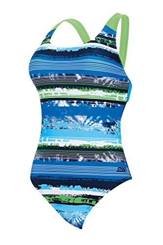 Zoggs aquabrush Sprintback Green/Multi-Colour