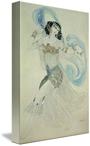 (Imagekind Wall Art Print Entitled Costume Design for Salome in 'Dance of The Seven by The Fine Art Masters | 6 x 10)