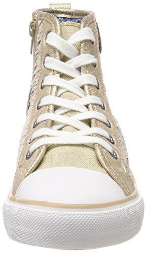 Toe a Beige aus Sneaker Sequin Hanna cap Offwhite Fritzi Alto Collo Donna Preussen qtRPgng0