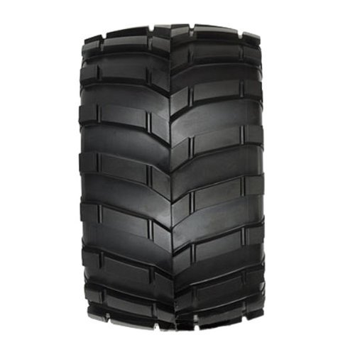 (PROLINE 118911 Masher 3.8 Tires 1/2 Offset Wheels, 17mm, Black)