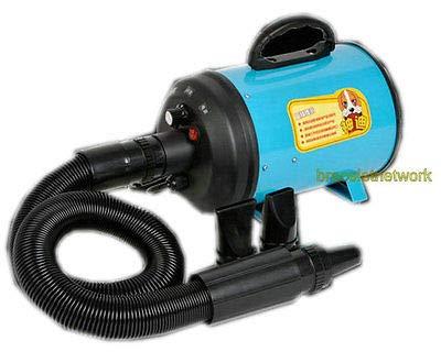 FidgetFidget Hairdryer 220V 2800W Dog Pet Grooming Dryer Hair Dryer Removable Pet 2 Nozzles