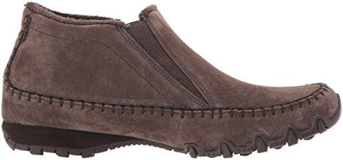 Mujer Skechers Spirit para Animal Bikers Botas Chocolate Chelsea gqYWqaAnP