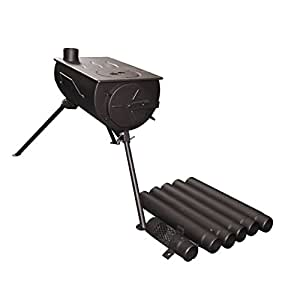 Amazon.com : Shasta Vent Portable, Camping wood stove ...