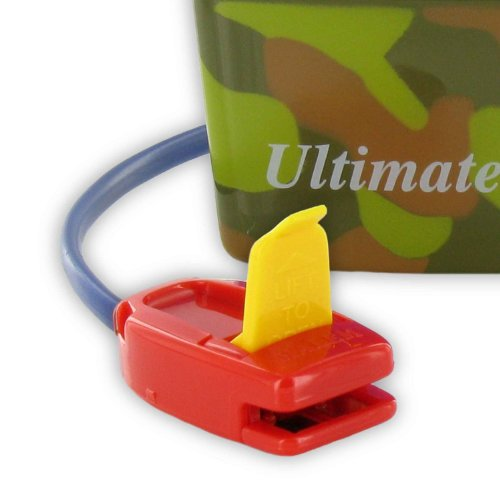 Malem Ultimate Selectable Bedwetting Alarm with Vibration - Camouflage by Malem (Image #3)