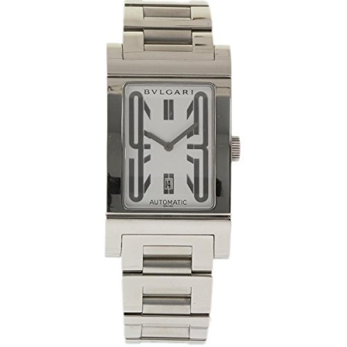 Bvlgari Rettangolo swiss-automatic mens Watch RT45S (Certified Pre-owned)