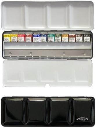 Artists Water Colour Boite De 12 Demi Godets D Aquarelles Extra