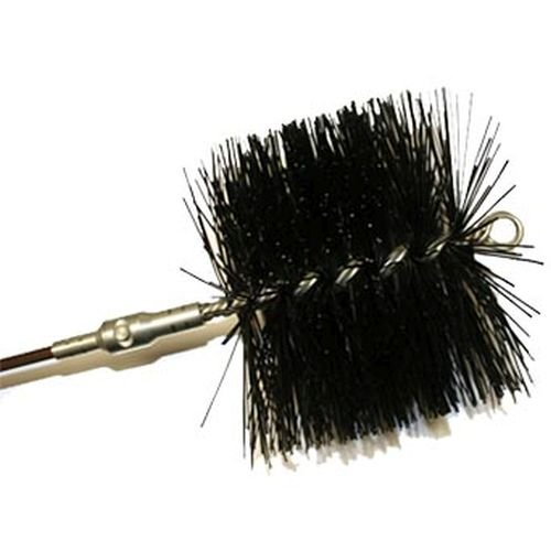 Square Master Sweep Chimney Wire Brush with TLC - 14'' by Rutland Products