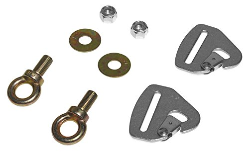 - Dragonfire Racing Quick-Release Snap Hook Harness Tab Kit (2