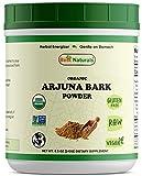 Best Naturals Certified Organic Arjuna Bark Powder 8.5 OZ (240 Gram), Non-GMO Project Verified & USDA Certified Organic