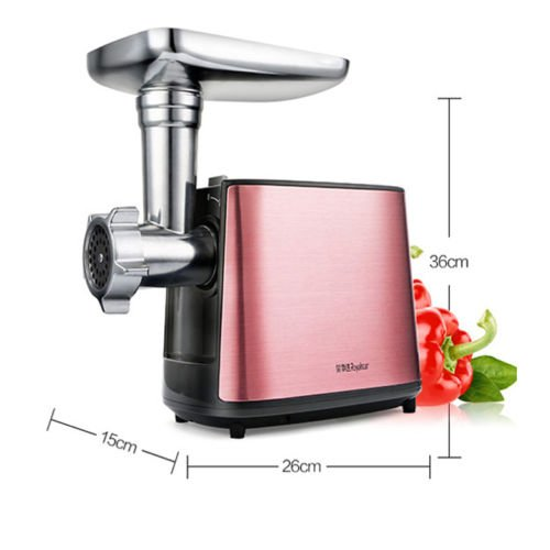 TOPCHANCES 220V Multi - function Electric Home Commercial Stainless Steel Food Meat Grinder