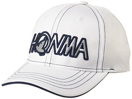 地質学大胆不敵余裕がある本間ゴルフ HONMA 836-312671 レディース ホワイトネイビー FREE(56~58cm)