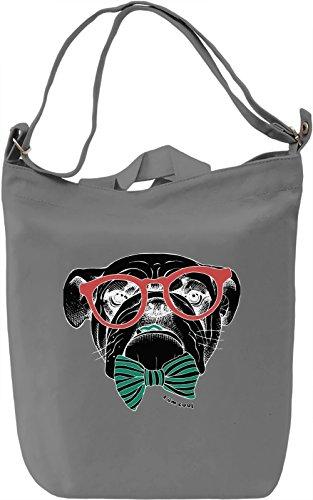 Cute Dog Borsa Giornaliera Canvas Canvas Day Bag| 100% Premium Cotton Canvas| DTG Printing|