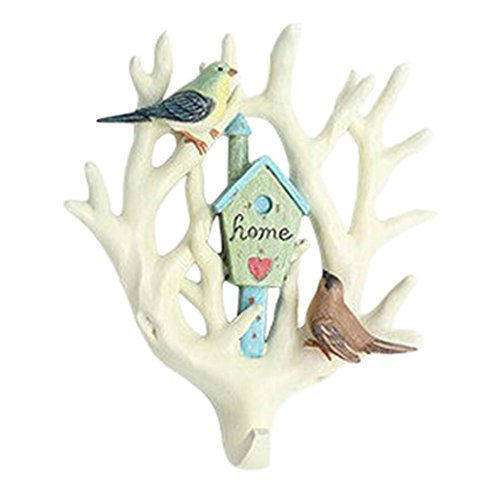 Home Decor Household Stylish Resin Wall Hooks Animal Design Pothook No.01 by Kylin Express