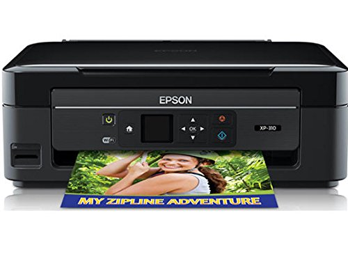 Epson XP 310 Wireless Color Photo Printer with Scanner (Large Image)