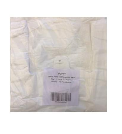 Grandes bolsas de plástico de alta densidad de amapola 11