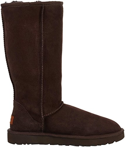 Tall chocolate Mouton Marron Bottes Femme Classic De Peau Ugg wn8qF5Cx6n