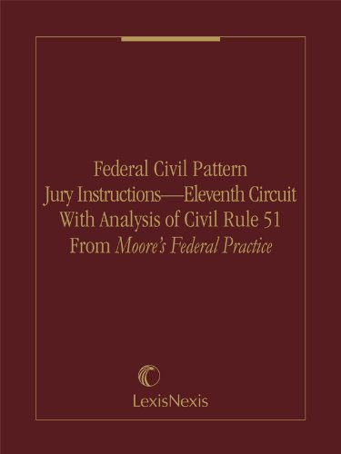 New Pdf Release Federal Civil Pattern Jury Instructions Eleventh
