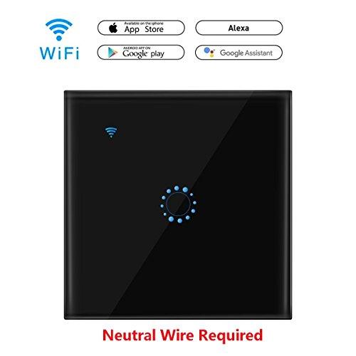 A0ZBZ WIFI Smart Touch Switch Works with Amazon...